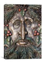 Green Man, Canvas Print