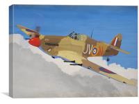 Hawker Hurricane Mk.IV, Canvas Print