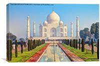 Taj Mahal 1, Canvas Print