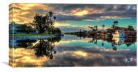 Sunrise Reflection, Canvas Print
