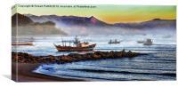 Brazilian Sunrise, Canvas Print