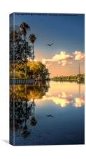 Sunrise on the Grand Canal, Canvas Print