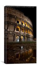 The Coliseum, Canvas Print