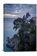 The Amalfi Coast, Canvas Print
