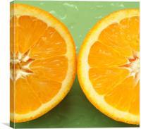 Oranges, Canvas Print
