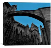 Lincoln catedral, Canvas Print