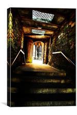 Passageway, Canvas Print