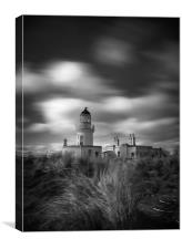 Chanonry light house, Canvas Print