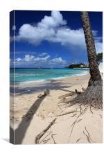 Lazy Beach, Canvas Print