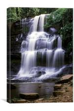 The Waterfall, Canvas Print
