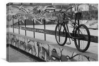 Shoreditch Street Art 2, Canvas Print