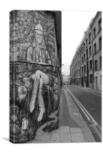 Street Art Huntsman, Canvas Print