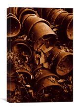 Broken Pots, Canvas Print
