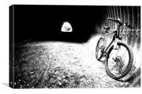 Bikers Rest, Canvas Print