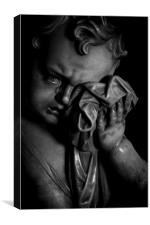 Cherub Tears, Canvas Print