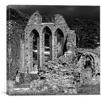 Inch Abbey, Canvas Print