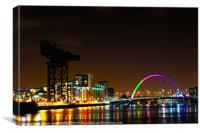 Glasgow City Life , Canvas Print