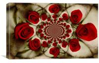 Ring-A-Ring-A-Roses, Canvas Print