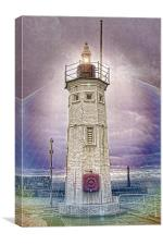 Anstruther Light, Canvas Print