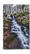 Feldy Waterfall, Canvas Print