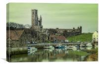 St Andrews Harbour, Canvas Print