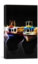 Light Boats, Canvas Print