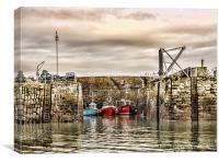 Tranquil Harbour, Canvas Print