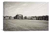 old Old Course, Canvas Print