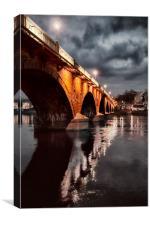Smeaton Bridge, Canvas Print