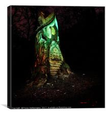 Fairy House, Canvas Print