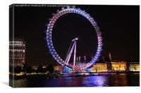London Eye., Canvas Print
