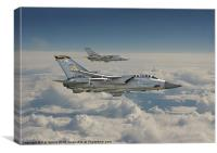 Tornado F3, Canvas Print
