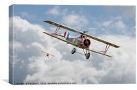 WW1 - Escadrille Lafayette - Hunters, Canvas Print