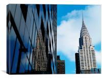 Chrysler Building New York, Canvas Print