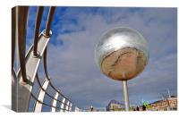 Glitter Ball, Canvas Print