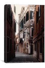 Venice Backstreet, Canvas Print
