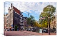 Amsterdam, Canvas Print