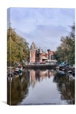 The Waag, Amsterdam, Canvas Print