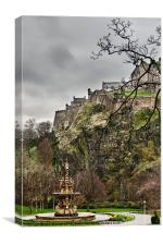 Princes Street Gardens, Edinburgh, Canvas Print