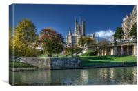 Bath Abbey, Canvas Print