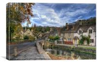 Castle Combe, Canvas Print