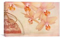 Orchid Falls, Canvas Print