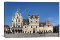 The Town Hall, Mechelen, Belgium, Canvas Print