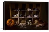 Halloween Collection, Canvas Print