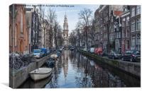 Zuiderkerk Amsterdam, Canvas Print