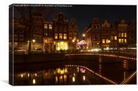 The Nine Streets Amsterdam, Canvas Print