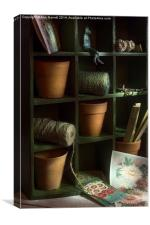 The Potting Shed, Canvas Print
