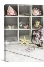 Curio Cabinet, Canvas Print