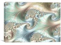 Mother of Pearl 2 - A Fractal Abstract, Canvas Print