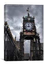 Eastgate Clock Chester, Canvas Print